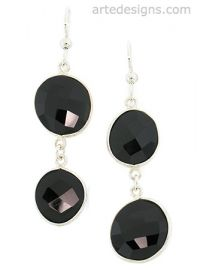 Abstract Spinel Earrings at Arte Designs
