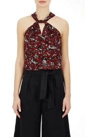 Acan Floral Cotton Top at Barneys