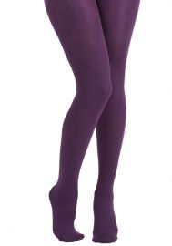 Accent Your Ensemble Tights at ModCloth