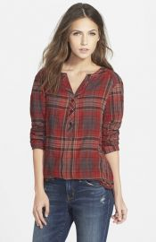 Ace Delivery Classic Plaid Henley at Nordstrom