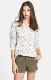 Ace Delivery Floral Cotton Shirt at Nordstrom