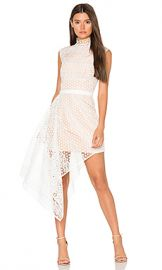 Acler Aleita Dress in Ivory from Revolve com at Revolve