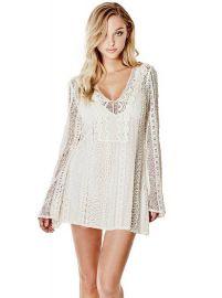 Adalina Crochet Dress at Guess