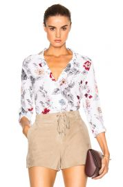 Adalyn blouse by Equipment at Forward