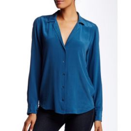 Adalyn washed-silk shirt by Equipment at Nordstrom
