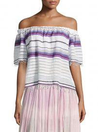 Adia Striped Off-The-Shoulder Top by LemLem at Saks Off Fifth