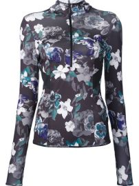 Adidas By Stella Mccartney Dark Blossom Long Sleeve Hoodie at Farfetch