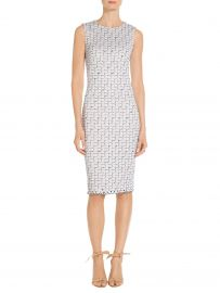 Adina Tweed Knit Dress by St John Collection at St. John