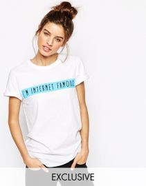 Adolescent Clothing  Adolescent Clothing Boyfriend T-Shirt With Internet Famous Slogan at Asos
