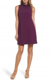 Adrianna Papell Beaded Trapeze Dress at Nordstrom
