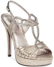 Adrianna Papell Madalen Evening Sandals - Women - Macys at Macys