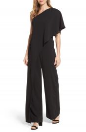 Adrianna Papell One-Shoulder Jumpsuit at Nordstrom