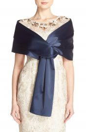 Adrianna Papell Satin Wrap at Nordstrom