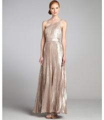 Aidan Mattox One Shoulder Gown at Neiman Marcus
