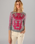 Akker Lion sweater by Maje at Bloomingdales