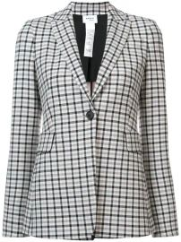 Akris Punto Check Print Blazer - Farfetch at Farfetch