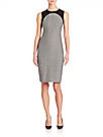 Akris punto - Jersey Trim Wool Sheath Dress at Saks Fifth Avenue