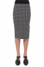 Akris punto Grid Knit Pencil Skirt at Nordstrom