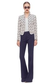 Akris punto Mini Dot Jacquard Jacket at Nordstrom