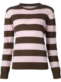 Alexa Chung For Ag Jeans and39walesand39 Striped Sweater  - American Rag at Farfetch