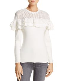 Alexa Ruffle Sweater by Lucy Paris at Bloomingdales