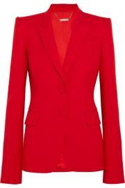 Alexander McQueen   Wool-blend blazer at Net A Porter