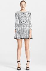 Alexander McQueen Crochet Lace Full Skirt Dress at Nordstrom