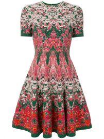Alexander McQueen Floral Printed Dress at Farfetch