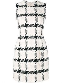 Alexander McQueen Houndstooth Mini Dress at Farfetch
