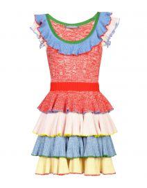 Alexander McQueen Ruffled Dress at Yoox