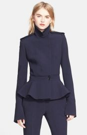 Alexander McQueen Wool Military Jacket at Nordstrom