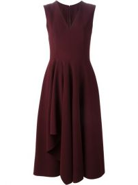 Alexander Mcqueen Asymmetric Drape Dress - Gigi Tropea at Farfetch