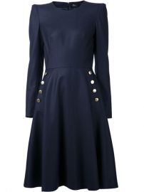 Alexander Mcqueen Flared Dress - at Farfetch