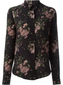 Alexander Mcqueen Floral Print Shirt - Coltorti at Farfetch