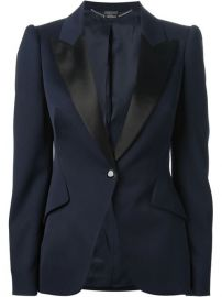 Alexander Mcqueen Tailored Blazer - Biffi at Farfetch