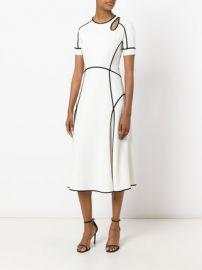 Alexander Wang Contrast Trim Dress at Farfetch