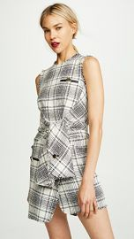 Alexander Wang Deconstructed Tie Front Dress at Shopbop
