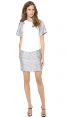 Alexander Wang Drape Neck T-Shirt Dress at Shopbop