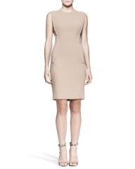 Alexander Wang Exposed-Dart Sheath Dress at Neiman Marcus