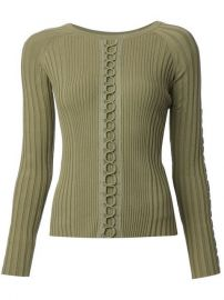 Alexander Wang Lace-up Detail Sweater at Farfetch