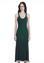 Alexander Wang Sleeveless Ribbed Maxi Dress  at Alexander Wang