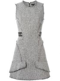 Alexander Wang Tweed Peplum Dress - Le Mill at Farfetch