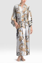 Alexandra Robe in Silver at Natori