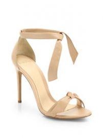 Alexandre Birman - Clarita Leather Ankle-Tie Sandals at Saks Fifth Avenue