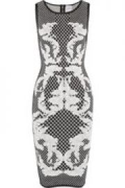 Alexia printed bandage dress at The Outnet