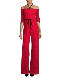 Alexis - Joaquin Off-the-Shoulder Lace Jumpsuit at Saks Fifth Avenue