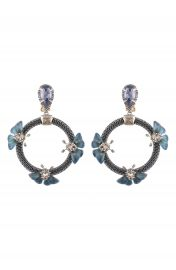 Alexis Bittar Brutalist Butterfly Clip-On Drop Earrings at Nordstrom
