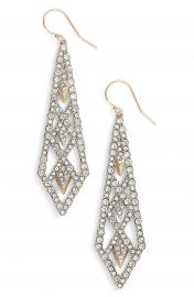 Alexis Bittar Crystal Encrusted Drop Earrings at Nordstrom