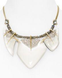 Alexis Bittar Swarovski Crystal-Encrusted Abstract Petal Bib Necklace  16  034 at Bloomingdales