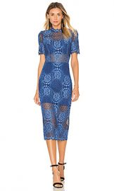 Alexis Delila Midi Dress in Passionate Blue from Revolve com at Revolve